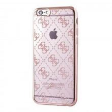Guess 4G Transparent - Etui iPhone SE / iPhone 5s / iPhone 5 (Rose Gold) 10_9399
