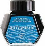 Opinie o Waterman Atrament w butelce - kolor niebieski South Sea - S0110810