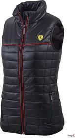 Ferrari F1Kamizelka Ferrari Women Padded Vest - Black