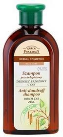 Green Pharmacy Hair Care Birch Tar & Zinc szampon przeciwłupieżowy 0% Parabens,