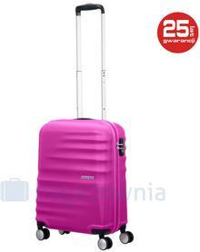 Samsonite AT by Mała kabinowa walizka AT WAVEBREAKER 74133 Różowa - różowy