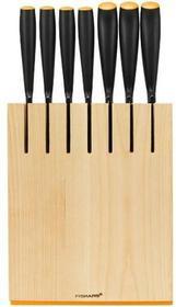 Fiskars 1087871 FunctionalForm - zestaw 7 noży w bloku  - odbierz w sklepie! | Darmowa dostawa