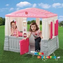 Step2 Domek z podłogą RÓŻOWY dla dzieci GRATIS 7294