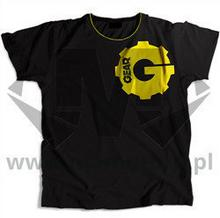 Gear - T-Shirt czarny 000414