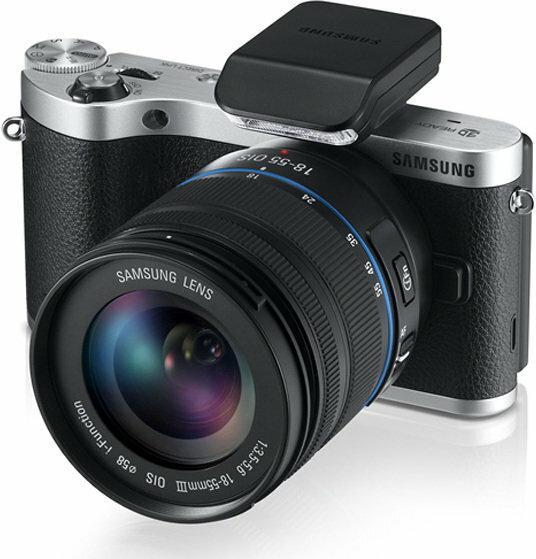 Samsung NX300 + 18-55 kit 3D czarny
