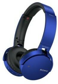 Sony MDR-XB650BTL niebieskie
