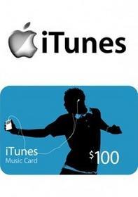 iTunes 100 USD GIFT CARD PREPAID US