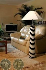 Falko Lampa stojąca - Zebra L1/maxi - 4872