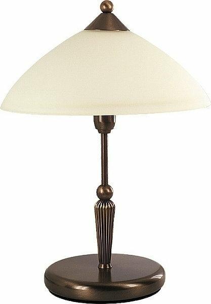 Rabalux klasyczna LAMPA gabinetowa ART DECO REGINA 8172 IP20 Patyna kremowy