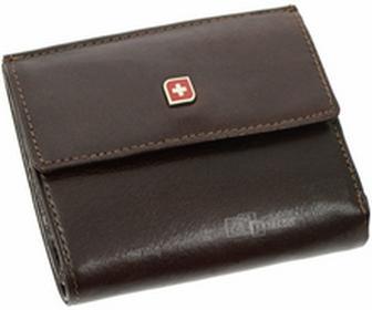Genevian Luxury Objects 03-2718-04 portfel skóra - brązowy