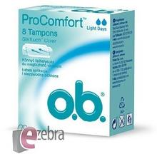 O.B. ProComfort Light Days komfortowe tampony 8szt