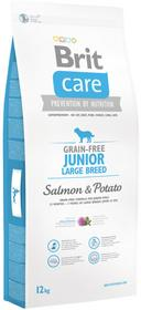 Brit Care Grain-Free Junior Large Salmon&Potato 4 kg
