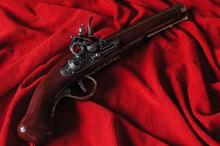 Hiszpania FRANCUSKI Pistolet SKAŁKOWY Z 1781r