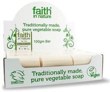 Faith In Nature Organiczne mydła z olejkiem herbacianym 18sztuk x 100g -