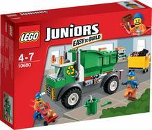 LEGO JUNIORS - Śmieciarka 10680