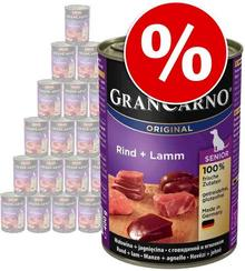 Animonda GranCarno Original Senior 24 x 400g 2 smaki