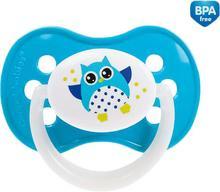 Canpol babies CANPOL Symetryczny smoczek, silikon, od 6 miesięcy, sowa - błękitny 3