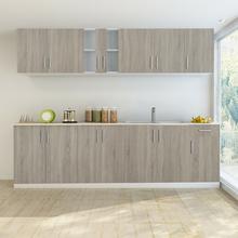vidaXL vidaXL Zestaw szafek kuchennych 8 sztuk z częścią na zlew w kolorze dębowym