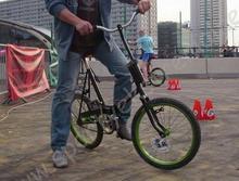 Jazda rowerem przeciwskrętnym - Łódź