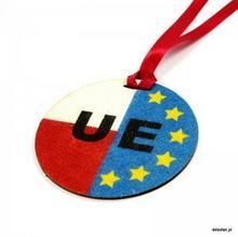 Dekofan Kolorowe PiasKlejki Medal Unia Europejska