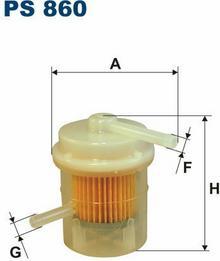 Filtr paliwa PS
