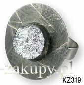 KOGATA - MURANO GLASS Pierścionek Kaziar MURANO GLASS KZ319
