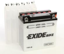 Exide Bike Conventional 12V 9 Ah 100A YB9-B