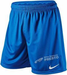 Nike Spodenki piłkarskie Park Knit - niebieski 448224463