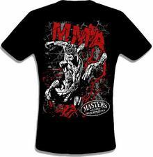 Masters Ubrania MMA2, T-shirt - czarna