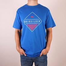 Quiksilver T-Shirt Classic Tee Diamond Mine - Victoria niebieski