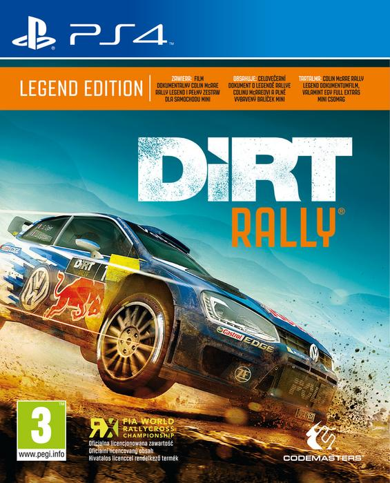 DiRT Rally: Legend Edition PS4