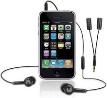 Macally zestaw słuchawkowy z rozdzielaczem do iPhone TunePal