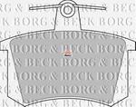 Opinie o BORG & BECK Klocki hamulcowe - komplet BBP1503