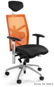 Unique Fotel biurowy EXACT pomarańczowy (W-099Y-BL-5) EXACTpomaranczowy