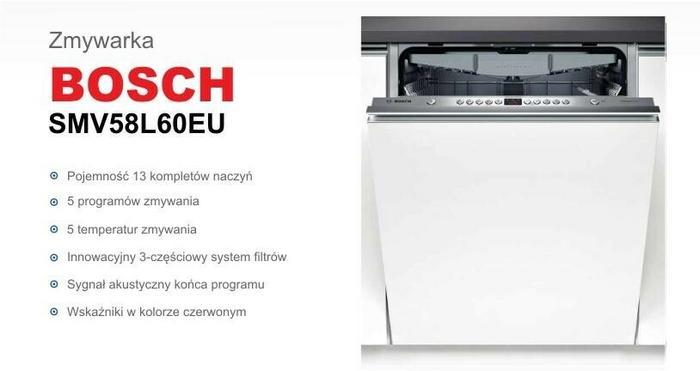 Bosch SMV58L60EU