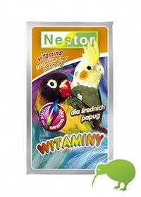 Nestor Witaminy dla średnich Papuga na piórka 20g