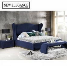 New Elegance Łóżko tapicerowane Tiffany Pojemnik Z pojemnikiem Tkanina Grupa IV Rozmiar materaca Materac 120x200