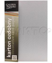 Idest Karton ozdobny A4 220g Batik/srebrny (20) AG6829