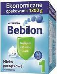 Bebilon 1 Mleko poczatkowe dla niemowląt, 1200g 5900852169694