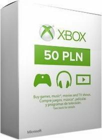 Karta Microsoft Xbox Live 50zł