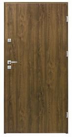 Splendoor Drzwi zewnętrzne stalowe  Basic 80 prawe orzech