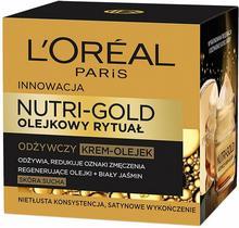 Loreal Nutri Gold olejkowy rytuał olejek do skóry suchej 30ml