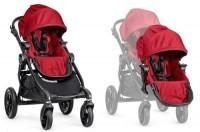 Baby Jogger City Select DOUBLE 2w1 Red