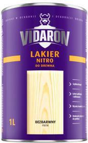 Vidaron superlakier nitro bezbarwny połysk1l