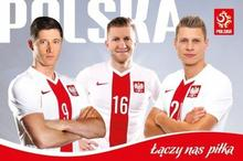 Błaszczykowski, Lewandowski, Piszczek Plakat