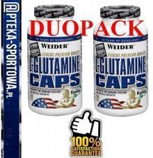 Weider DUOPACK - L-Glutamine caps - 2x 160 kaps