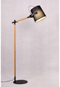 Lumina Deco Lampa podłogowa LAPIDUS BLACK LDF 8308 BK ) Deco