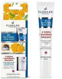 Flos-Lek żel do powiek i pod oczy z luteiną i świetlikiem lekarskim 15ml