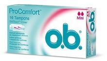 O.B. ProComfort Mini komfortowe tampony 16szt