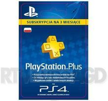 Sony Subskrypcja Playstation Plus 3 M-Ce Kod Aktywacyjny Dostęp Po Opłaceniu Zakupu